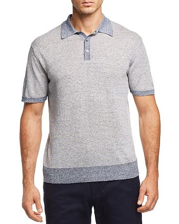 The Men's Store at Bloomingdale's - Striped Knit Polo Shirt - 100% Exclusive
