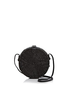 Street Level Circle Straw Crossbody - Bloomingdale's_0