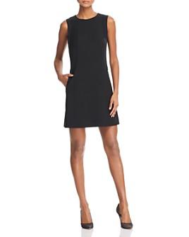 Theory - Helaina Wool-Blend Shift Dress