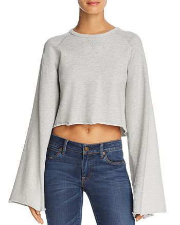 7 For All Mankind - Flared-Sleeve Sweatshirt