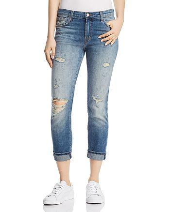 J Brand - Johnny Boyfriend Jeans in Angeles