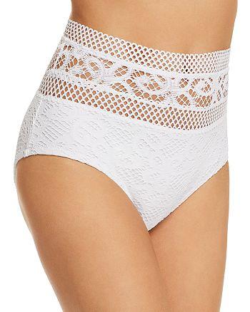 ec0d6ad4017ea BECCA® by Rebecca Virtue - Captured High Waist Bikini Bottom