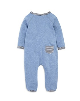 Bloomie's - Boys' Striped-Trim Footie, Baby - 100% Exclusive