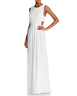 Bcbgmaxazria Pleated Column Gown - 100% Exclusive