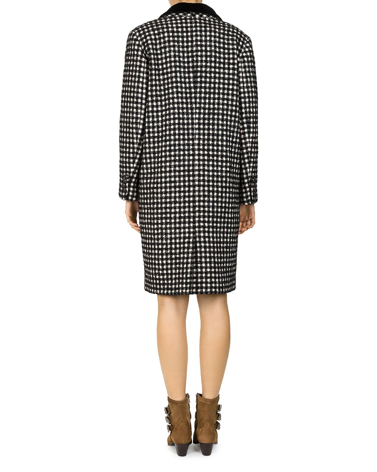 Tzar Checked Coat by The Kooples