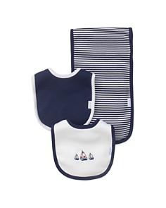 Little Me Boys' Nautical Bibs & Burp Cloth Set - Baby - Bloomingdale's_0