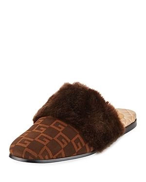 Gucci Square G Slippers