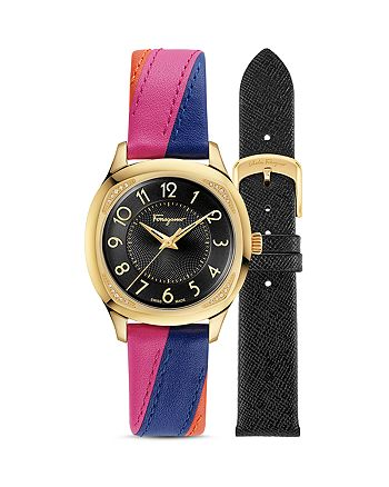 Salvatore Ferragamo - Time Watch with Interchangeable Straps, 36mm