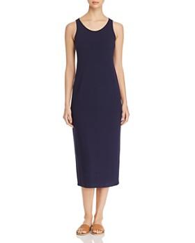 96c7f66d5fab Eileen Fisher - Scoop Neck Midi Tank Dress, Regular & Petite ...