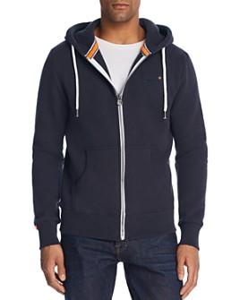 Superdry - Orange Label Zip Hoodie