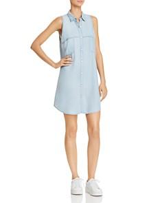 BB DAKOTA Brantley Cutout Chambray Shirt Dress - Bloomingdale's_0