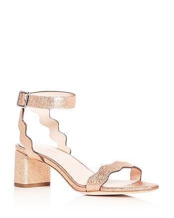 f07846e5ec4 Loeffler Randall Women s Emi Leather Ankle Strap Block Heel Sandals ...