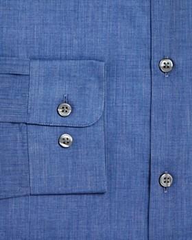 John Varvatos Star USA - Chambray Solid Slim Fit Dress Shirt