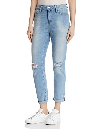 Mavi - Lea Straight Jeans in Light Ripped Vintage - 100% Exclusive