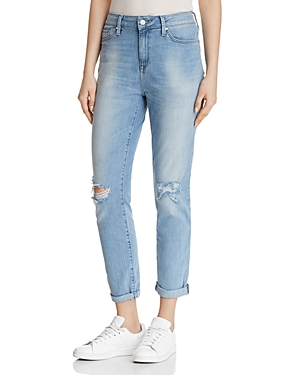 Mavi LEA STRAIGHT JEANS IN LIGHT RIPPED VINTAGE - 100% EXCLUSIVE