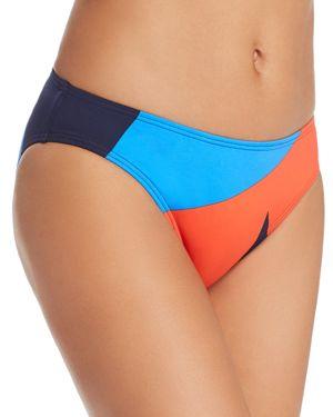 MEI L'ANGE Micah Bikini Bottom in Lava