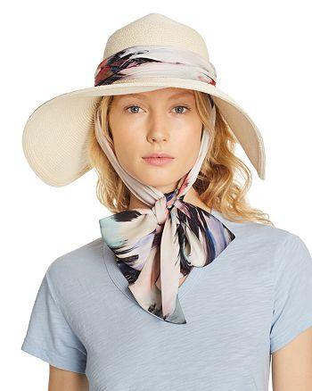 Eugenia Kim - Bunny Silk-Trim Sun Hat