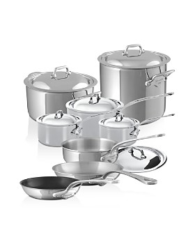 Mauviel - M'Cook Stainless Steel 14-Piece Cookware Set