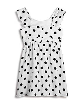Bardot Junior - Girls' Dotted Knot Dress - Little Kid