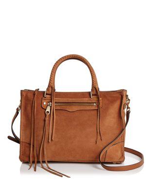 Rebecca Minkoff Regan Nubuck Leather Satchel 2897585