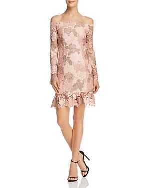 Elliatt Harmony Off-the-Shoulder Lace Dress