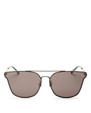 Bottega Veneta Women's Brow Bar Square Sunglasses, 68mm