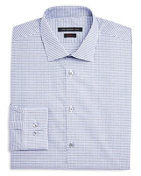 John Varvatos Star USA - Micro Check Dot Slim Fit Dress Shirt