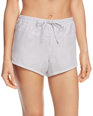 Calvin Klein Striped Sleep Shorts