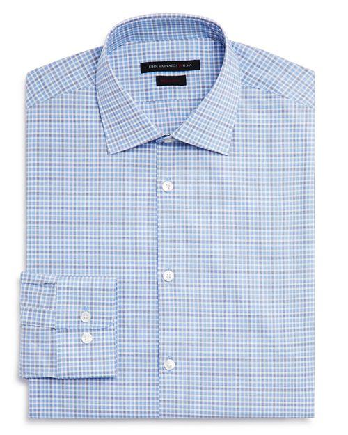 John Varvatos Star USA - Check Regular Fit Dress Shirt