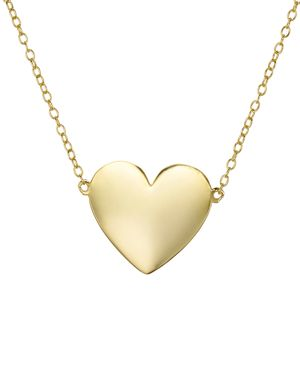 Aqua Heart Pendant Necklace in 18K Gold-Plated Sterling Silver, 12 - 100% Exclusive