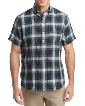 OOBE - Lange Plaid Popover Shirt