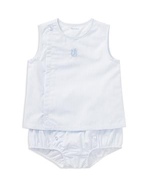 Ralph Lauren Boys Striped Poplin Shirt  Bloomers Set  Baby
