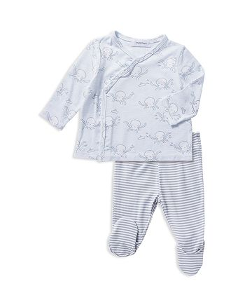Angel Dear - Unisex Octopus Shirt & Footie Pants Take Me Home Set - Baby