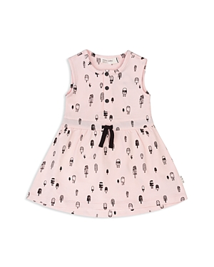 Miles Baby Girls Ice Pop Print Drawstring Dress  Baby