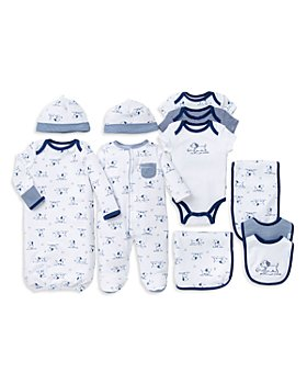 Little Me - Boys' Puppy Toile Footie, Bodysuits, Bibs & More - Baby