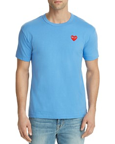 Comme Des Garcons PLAY - Red Heart Crewneck Tee