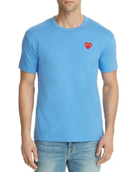 3e5861d31b46 Comme Des Garcons PLAY - Red Heart Crewneck Tee