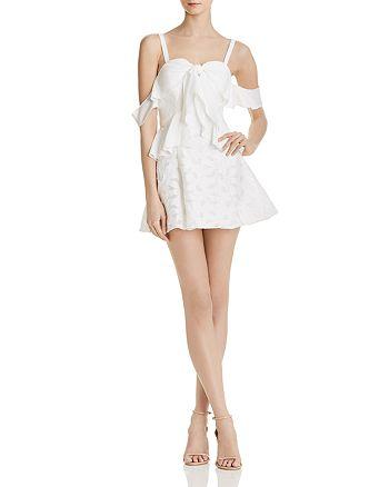Finders Keepers - Kindred Cold-Shoulder Mini Dress