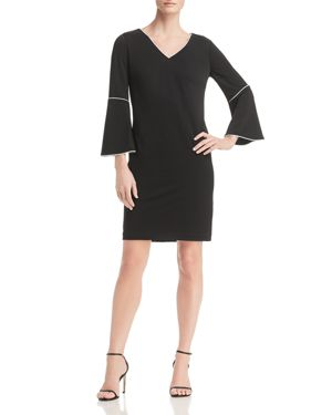 Calvin Klein Piped Bell-Sleeve Dress - 100% Exclusive 2900899