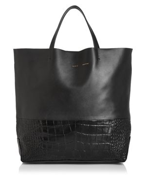 ALICE.D MILANO EXTRA LARGE LEATHER TOTE
