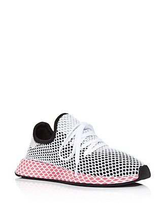 Countdown Package Cheap Price adidas Women's Deerupt Runner Net Lace Up Sneakers Get Authentic Online Huge Surprise Sale Online Authentic Sale Online OFbA2