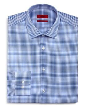 HUGO - Micro Check Regular Fit Dress Shirt