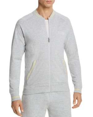 BOSS AUTHENTIC LOUNGEWEAR ZIP-UP JACKET