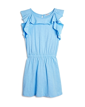 Splendid Girls Cotton Flounce Dress  Big Kid
