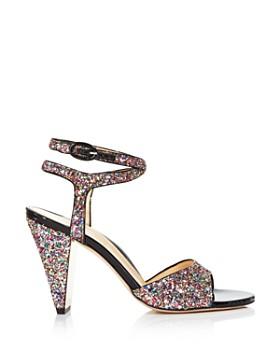 MARION PARKE - Women's Loretta Rainbow Glitter High-Heel Sandals