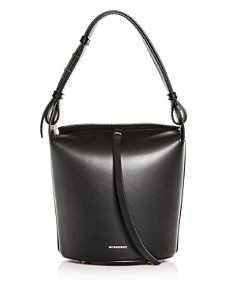 Burberry - The Small Leather Bucket Bag