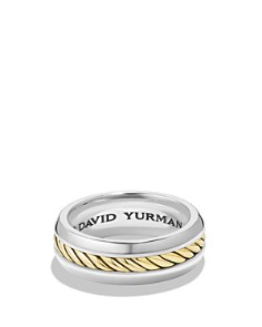 David Yurman - Cable Classic Ring with 18K Gold