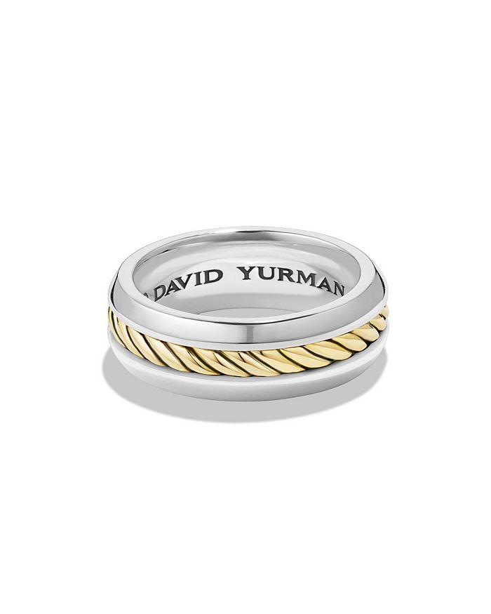 David Yurman - Cable Classics Ring with 18K Gold