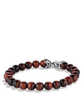 David Yurman - Spiritual Beads Bracelet with Red Tiger's Eye, 8mm