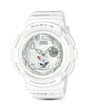 CASIO G-SHOCK HELLO KITTY ANALOG/DIGITAL WATCH, 44.3MM